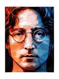 Lennon, John Reproduction d'art par Enrico Varrasso