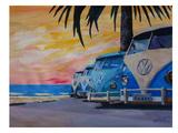 The Blue Surf Bus Line