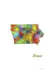 Iowa State Map 1