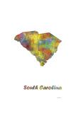 South Carolina State Map 1