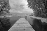 Dock at St Joseph River  Centreville  Michigan '13-IR