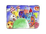 Watercolour Planet - Suburb of Colour  1