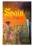 Spain - Fly TWA (Trans World Airlines) - Matadors
