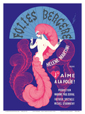 "Cabaret Music Hall - Paris  France - Helene Martini préeente ""J'Aime a La Folie!"""