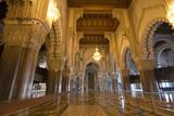 Casablanca  Morocco Interior Famous Hassan II Mosque