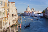 Italy  Venice  View of the Grand Canal from the Ponte Dell'Accademia