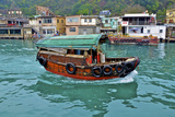 Community of Live-Aboard Boat People  Lei Yu Mai  Hong Kong