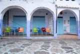 Morocco  Local Village Eatery in Chefchaouen in Village Medina