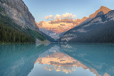 Canada  Banff NP  Lake Louise  Mount Victoria and Victoria Glaciers