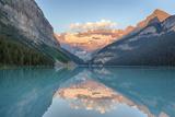 Canada, Banff NP, Lake Louise, Mount Victoria and Victoria Glaciers Papier Photo par Jamie & Judy Wild