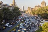 Chhatrapati Shivaji Terminus Train Station and Central Mumbai  India