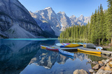 Canada  Banff NP  Valley of the Ten Peaks  Moraine Lake  Canoe Dock