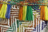 Papua New Guinea  Murik Lakes  Karau Village Woven Straw Bag