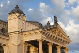 Romania  Moldavia  Iasi  Vasile Alecsandri National Theater at Sunset
