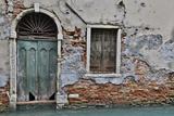 Green Doorway  Venice  Italy