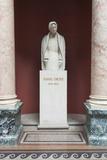 Romania  Bucharest  Romanian Athenaeum  Statue of George Enescu
