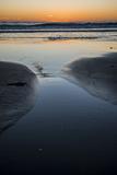 California  Carpinteria  Santa Barbara Channel  Beach at Low Tide