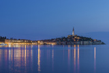 Croatia  Istria  Twilight Rovinj