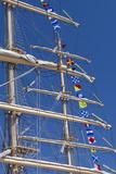 Romania  Constanta  Black Sea Tall Ships Regatta  Signal Flags