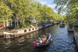 Canal  Amsterdam  Holland  Netherlands