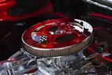 USA  Georgia  Savannah  Engine of a Car in Car Show