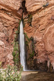 Waterfall Tributary to Colorado River Grand Canyon Arizona USA