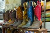 Cowboy Boots  San Juan de Dios Market  Guadalajara  Jalisco  Mexico