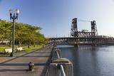Oregon  Portland Waterfront Park Along the Willamette River