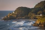 Heceta Head Lighthouse Along the Oregon Coast  USA