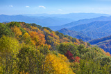 North Carolina  Great Smoky Mountains NP  View from Newfound Gap Road