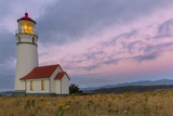 Oregon's Oldest Lighthouse at Cape Blanco State Park  Oregon Usa
