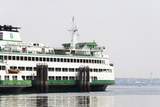 Eagle Harbor  Ferry Arrives Bainbridge from Seattle