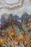 Prudent Man Agate, Origin Idaho Papier Photo par Darrell Gulin