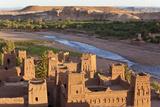 Morocco  High Atlas Mountains  Ait Ben Haddou Ksar