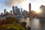 City Center and Central Business District Brisbane  Australia