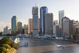 Brisbane Skyline  Queensland  Australia