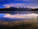 Canada  Alberta  Pyramid Lake in Jasper National Park