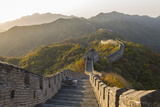 The Great Wall at Mutianyu Near Beijing in Hebei Province  China