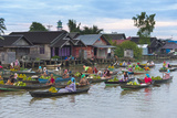 Lok Baintan Floating Market  Banjarmasin  Kalimantan  Indonesia