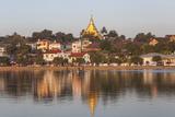 Wat Jong Kham Sits on a Hill in Kyaing Tong Town  Myanmar