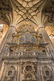 Spain  Salamanca  Cathedral Organ