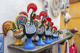 Portugal  Obidos  Traditional Painted Black Roosters