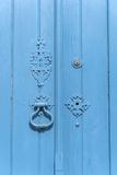Europe  Portugal  Obidos  Painted Blue Door