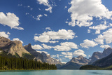 Canada  Alberta  Jasper National Park  Maligne Lake