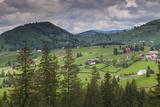 Romania  Transylvania  Tihuta Pass  Mountain Buildings of the Pass
