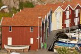 Boat Huts in Smogen  Bohuslan Coast  Sweden