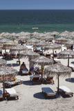 Romania  Black Sea Coast  Mamaia  Elevated Beachfront View
