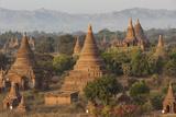 Ancient Temple City of Bagan (Also Pagan)  Myanmar (Burma)