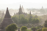 Ancient Temple City of Bagan (Also Pagan) at Sunset  Myanmar (Burma)