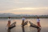 Intha Fisherman  Shan State  Inle Lake  Myanmar (Burma)